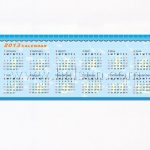 Banner pens with calendars inside
