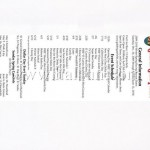 Ballpoint pen with pull out menu